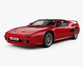3D model of De Tomaso Pantera SI 1990