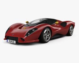 3D model of De Tomaso P72 2020