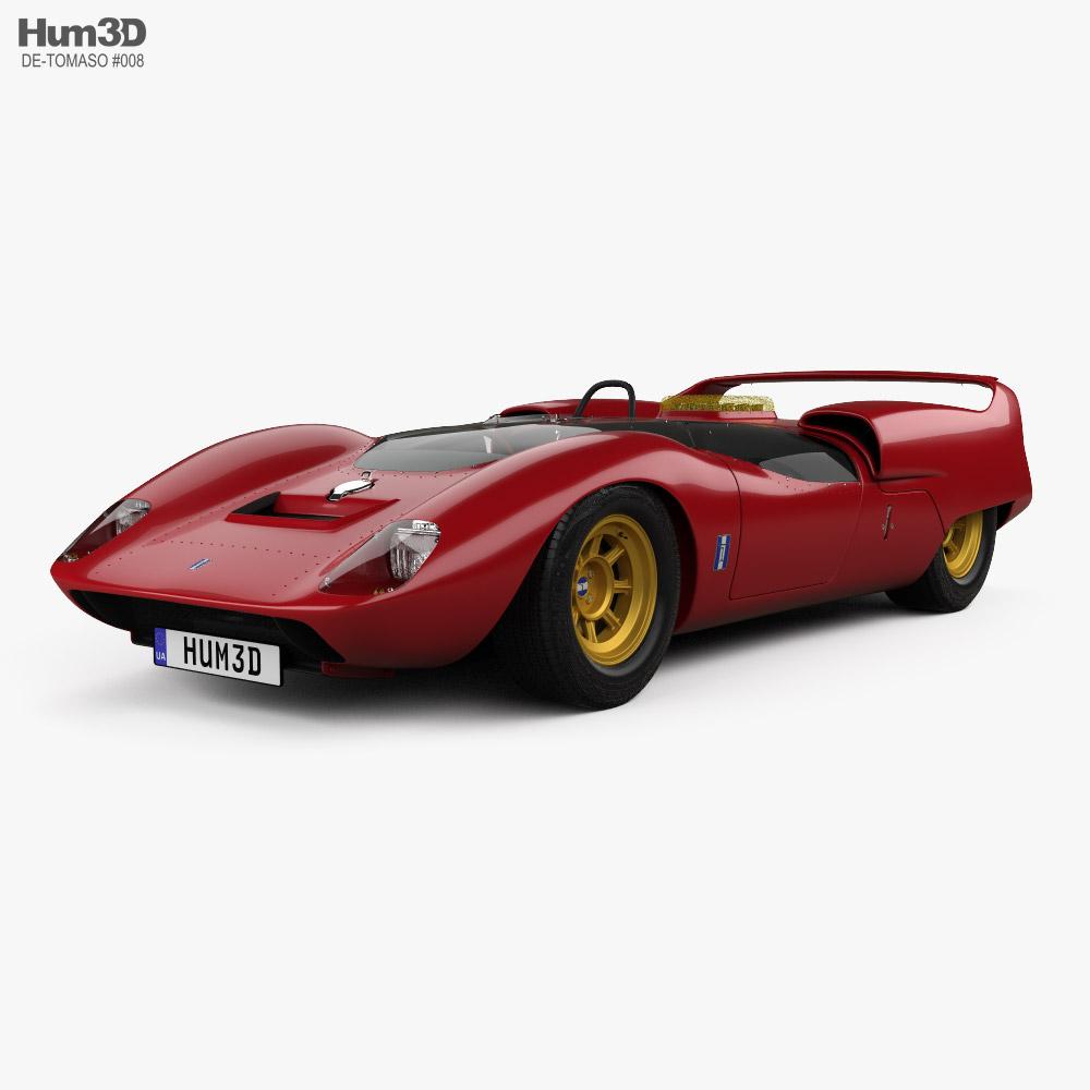 De Tomaso P70 1965 3D model