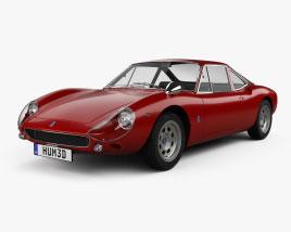 De Tomaso Vallelunga 1965 3D model