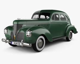 3D model of DeSoto Deluxe Touring Sedan 1939