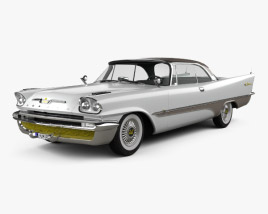 3D model of DeSoto Adventurer Hardtop Coupe 1957