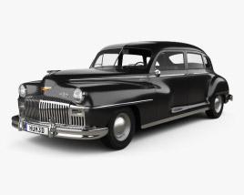 DeSoto Custom Suburban Sedan 1947 3D model