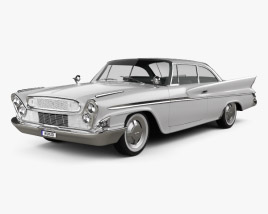 3D model of DeSoto Hardtop Coupe 1961