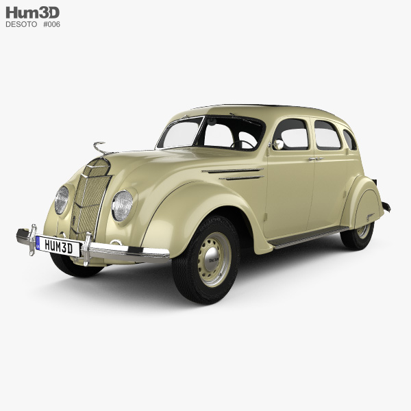 3D model of DeSoto Airflow Sedan 1935