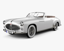 3D model of Delahaye 235 Chapron Cabriolet 1951