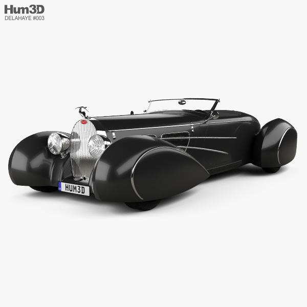 Delahaye Bugnotti 2010 3D model