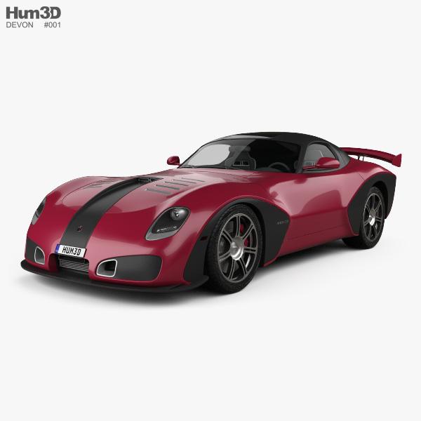 Devon GTX 2010 3D model