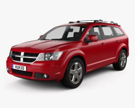 3D model of Dodge Journey R/T 2009