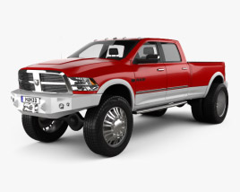 3D model of Dodge Ram 2010