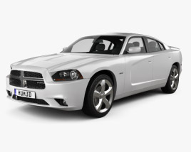 3D model of Dodge Charger (LX) 2011