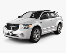 3D model of Dodge Caliber 2010