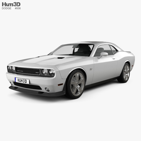 3D model of Dodge Challenger SRT8 2011