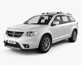 3D model of Dodge Journey 2011
