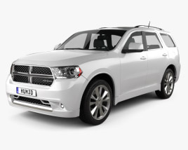 3D model of Dodge Durango 2011