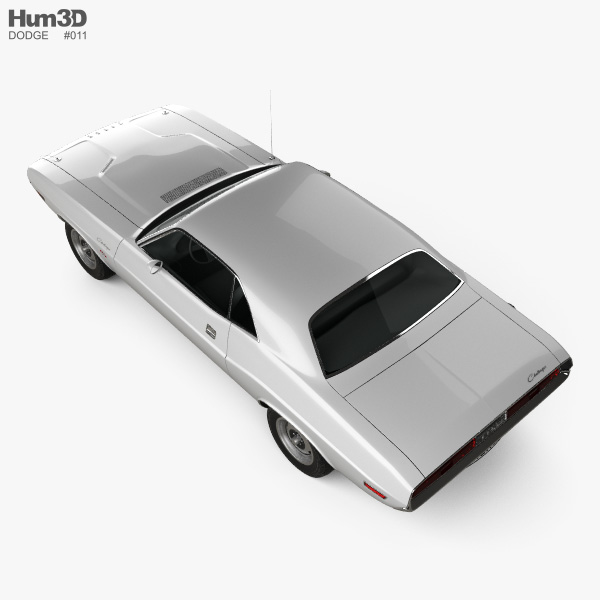 Dodge Challenger hardtop 1970 3D model