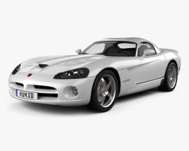 3D model of Dodge Viper SRT10 2010
