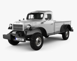 3D model of Dodge Power Wagon 1946