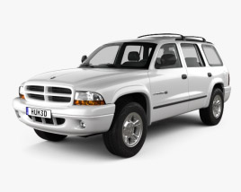3D model of Dodge Durango 1997