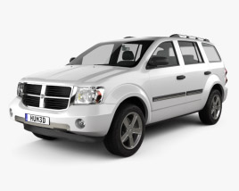 3D model of Dodge Durango 2008