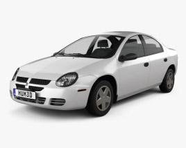 3D model of Dodge Neon 2005