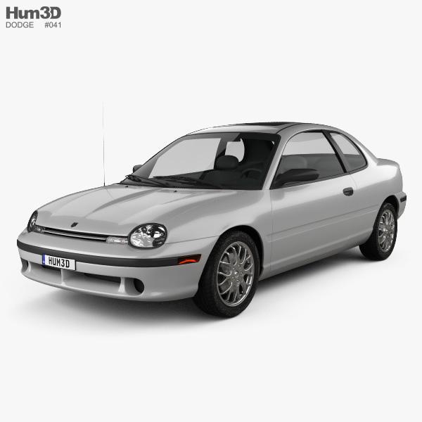 Dodge Neon Sport Coupe 1996 3D model
