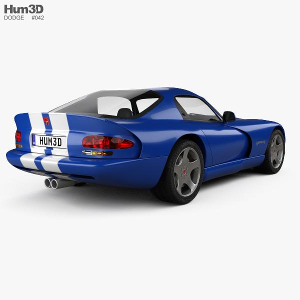 Dodge Viper GTS 1998 3D model
