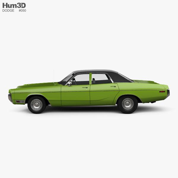 Dodge Polara Hardtop Coupe 1970 3D model