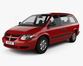 3D model of Dodge Grand Caravan 2004