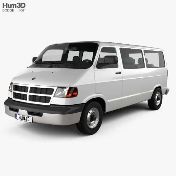 Dodge Ram Van 1994 3D model