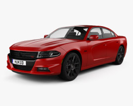 Dodge Charger (LD) 2015 3D model