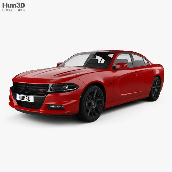 Dodge Charger (LD) 2015 3D model