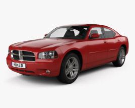 3D model of Dodge Charger (LX) 2006