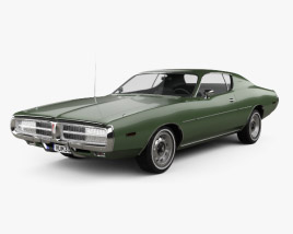 3D model of Dodge Charger 1972