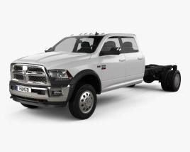 Dodge Ram Crew Cab Chassis L2 Laramie 2016 3D model