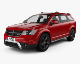 3D model of Dodge Journey Crossroad 2014