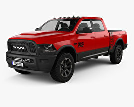 3D model of Dodge Ram Power Wagon 2017