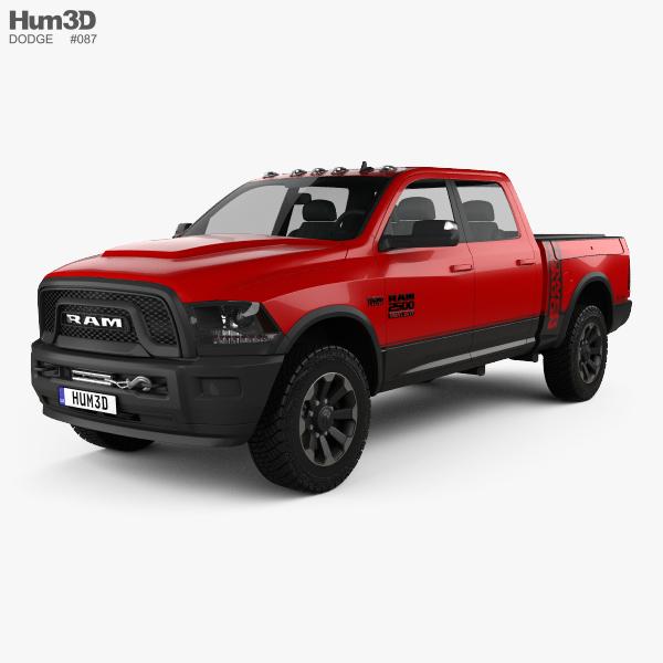 Dodge Ram Power Wagon 2017 3D model