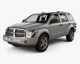 Dodge Durango SLT 2004 3D model