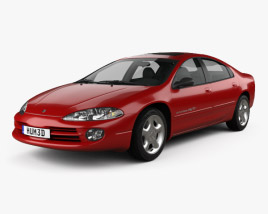3D model of Dodge Intrepid RT 2001