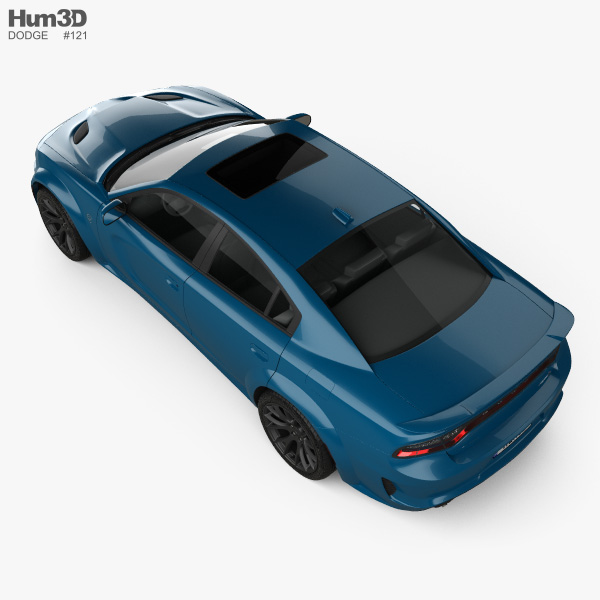 Dodge Charger SRT Hellcat Wide body 2020 3D model