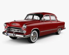 3D model of Dodge Coronet sedan 1953