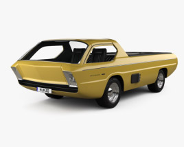 3D model of Dodge Deora 1967