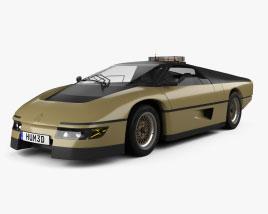 Dodge M4S PPG Turbo Concept 1981 3D model