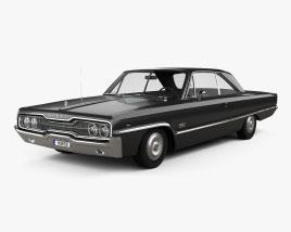 Dodge Polara 2-door hardtop 1966 Modelo 3D