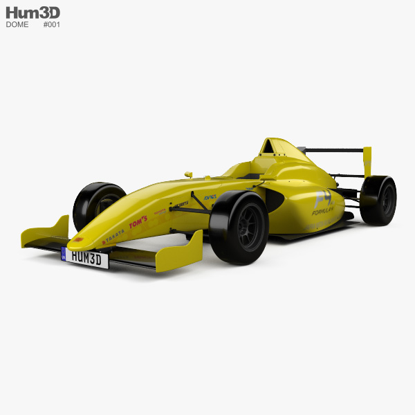 3D model of Dome F110 2014