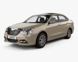 3D model of Dongfeng Fengshen A60 2012