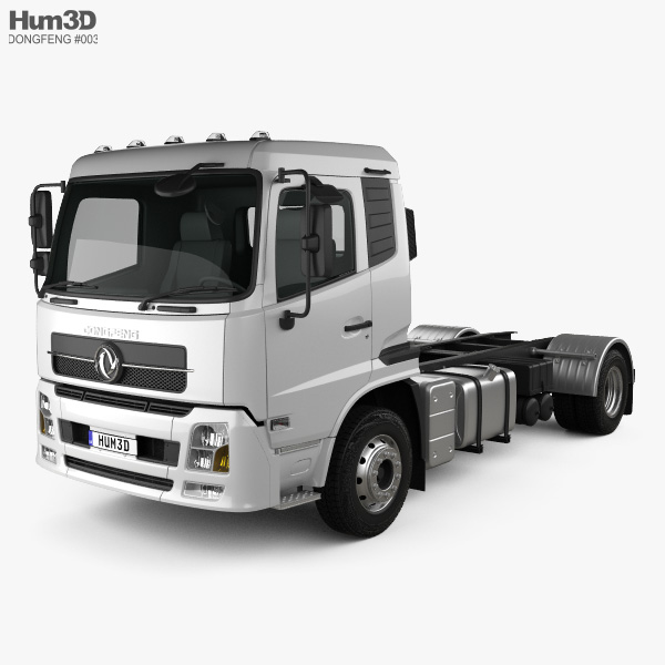 Dongfeng KR Chassis Truck 2014 3D model