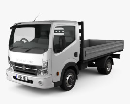 3D model of Dongfeng DF Flatbed Truck 2012