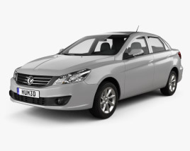 3D model of DongFeng S30 2015
